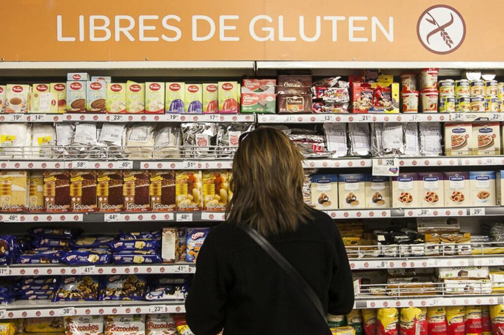 Aseguran que no se respetan los precios cuidados de productos para celíacos