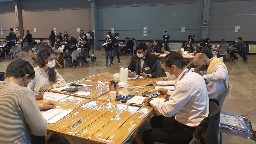 Comenzó el escrutinio definitivode las elecciones legislativas