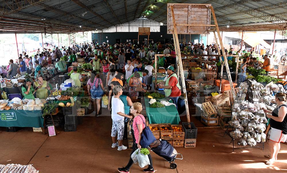 Feria Franca - Las ferias francas suelen concentrar muchas personas