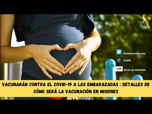 Misiones: vacunarán contra el Covid-19 a todas las embarazadas tengan o no factores de riesgo