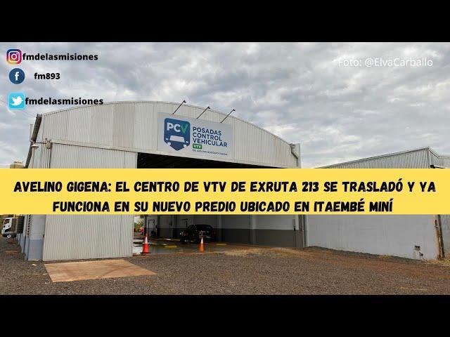 Posadas: La VTV de exRuta 213 se trasladó a un nuevo predio ubicado en Itaembé Miní