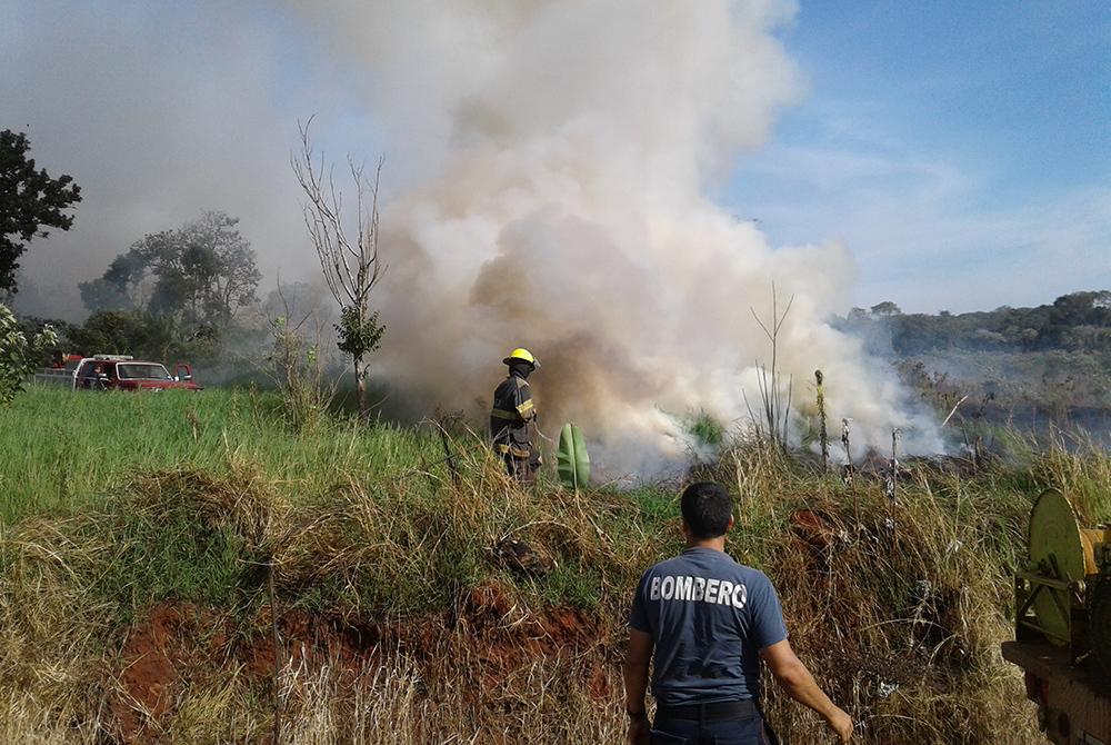 Incendios - San Vicente
