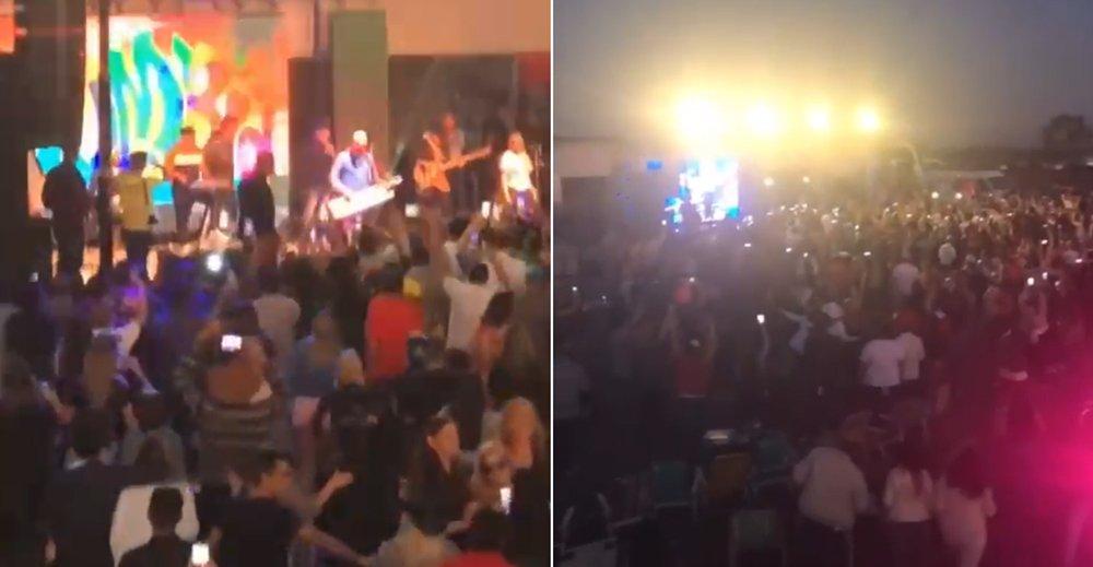 Denuncia la realización de un masivo recital en Ituzaingó