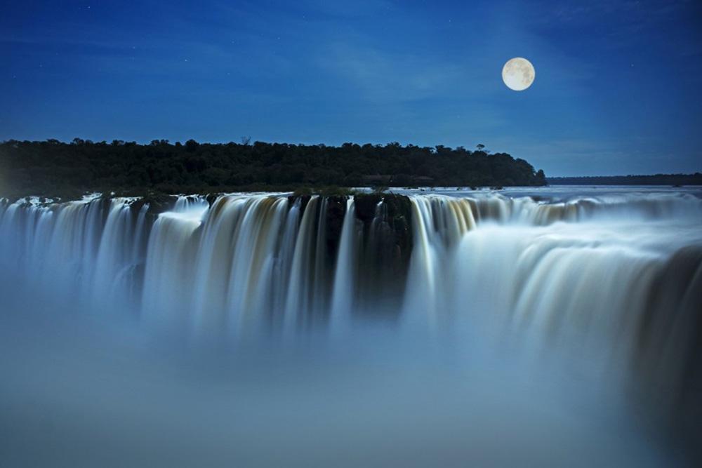 Paseo de la luna llena - Garganta del Diablo