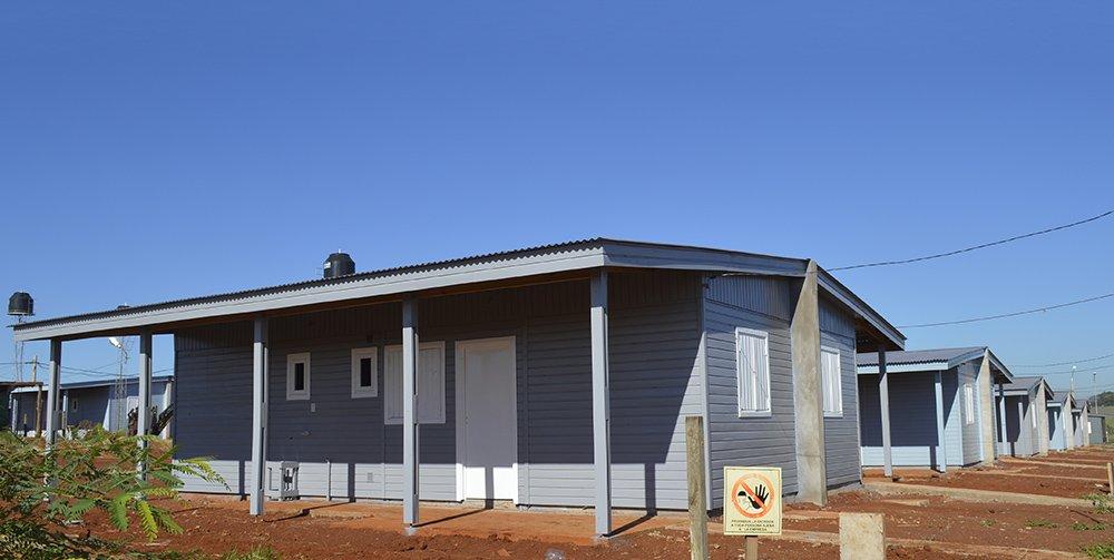 IPRODHA sorteará 200 nuevas viviendas de madera en Itaembé Guazú