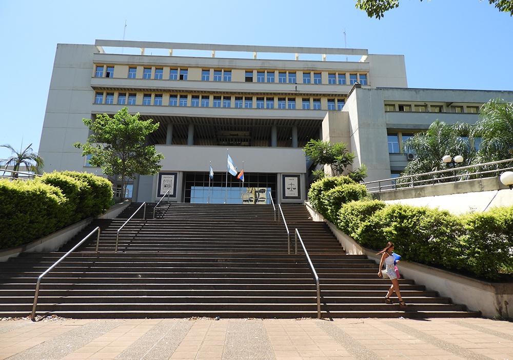 Judiciales realizaron un paro de actividades